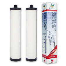 2 x GENUINE Doulton Water Filter Ultracarb® M15 Franke Triflow Mount W9223021