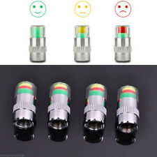 4PCS Car Auto Tire Pressure Monitor Valve Stem Caps Sensor Indicator Alert 36PSI