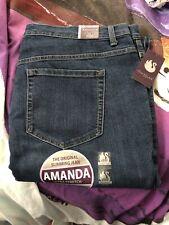 Gloria Vanderbilt Amanda jeans 18w Short Women's Plus New W Tags