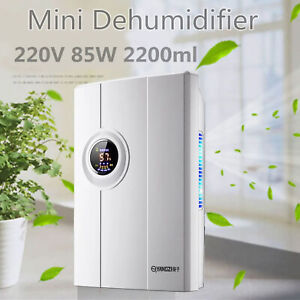 2200ml 85W Portable Mini Electric Home Air Dehumidifier Dryer Moisture Absorber