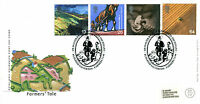 7 SEPTEMBER 1999 FARMERS TALE ROYAL MAIL FIRST DAY COVER BUDLEIGH SALTERTON SHS