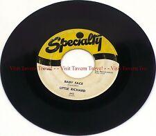 "1958 ROCK & ROLL Little Richard – Baby Face/I'll Never Let You Go 7"" 45"