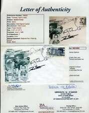 Jim Mcdivitt David Scott Russ Schweickart JSA LOA Signed 1965 FDC Cache NASA Aut