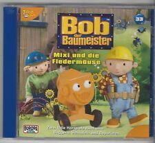 CD - BOB DER BAUMEISTER - MIXI UND DIE FLEDERMÄUSE - FOLGE 33