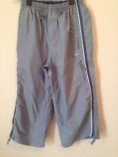 ACTIVE SPORTSWEAR Long Shorts, Light Blue/Grey, Polyester, Small <BC324