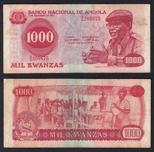 Angola 1000 kwanzas 1979 BB/VF  A-04