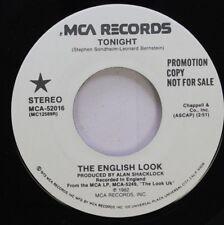 Rock Promo 45 Stephen Sondheim-Leonard Bernstein - Tonight / Tonight On Mca Reco