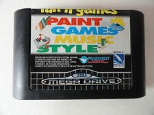 fun´n games PAINT GAME MUSIC STYLE (SEGA MEGA DRIVE) nur das Modul***