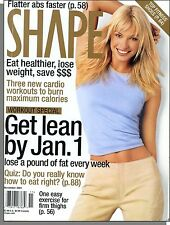 Shape - 2001, November - Lose a Pound of Fat Every Week, 3 Cardio Workouts