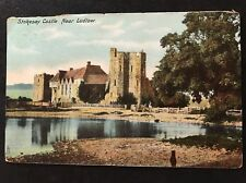 RP Vintage Postcard - Shropshire #B4 - Stokesay Castle - Posted In USA 1908