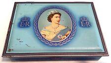 CORONATION OF HM QUEEN ELIZABETH II 1953 CAPSTAN CIGARETTE TIN
