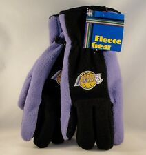 Los Angeles Lakers NBA Mens Thinsulate Fleece Gloves