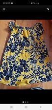 Beautiful yellow dress size 12