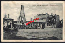 Planty runs-podczas wojny-Rynek konski-krotoschin - 1915-Poland - 1.wk - Field Post
