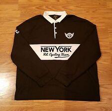 Polo Ralph Lauren New York RL Cycling Team Long Sleeve Shirt NWT Mens Size XXL