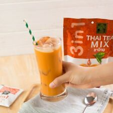 Thai Tea Mix Traditional 3 in 1 Brew Drink Instant Hot & Cold 1 Pcs(5 Sachets)