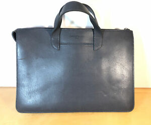 Carl Friedrik / Opperman London Italian Made Vallance Slim Briefcase