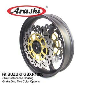 For SUZUKI GSXR1000 2005 2006 2007 2008 K7 K8 Front Wheel Rims Brake Disc Rotors