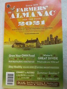 FARMERS' ALMANAC 2021 PLANT WEED HARVEST