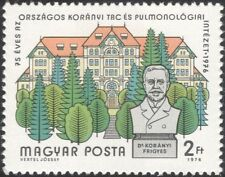Hungary 1976 Hospital/TB/Doctors/Medical/Health/Welfare/Buildings 1v (n45628)