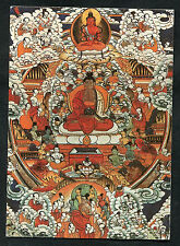 Posted 1990 from Germany: Buddha Painting, Staatliche Museum, Berlin