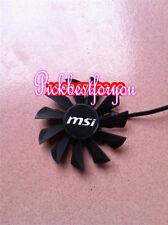 87mm 12V 0.55A 4pin PLA09215B12H Fan For Video card MSI N560,570 580GTX #M610 QL