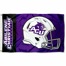 Abilene Christian Wildcats Football Helmet Flag Large 3x5