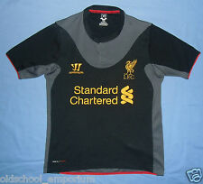 Liverpool FC / 2012-2013 Away - WARRIOR - JUNIOR Shirt / Jersey. Size: MB, 146cm