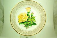 "NIB HAMILTON EDWARD MARSHALL BOEHM ""THE PEACE ROSE"" COLLECTOR PLATE WITH BOX"