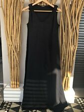 Robe Longue Noire ALBERTINE
