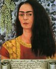 Print -    Self Portrait with Loose Hair, 1947 by Frida Kahlo