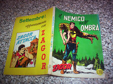 ZAGOR ZENITH N.77 ORIGINALE DEL 1967 MB/OTTIMO TIPO WEST TEX MARK ARALDO RANGER
