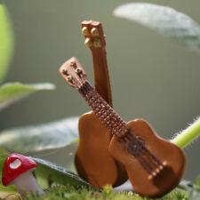 """6pcs гитарный миниатюры фея кукольный домик сад украшение украшение фигурки """"сделай сам"""""""
