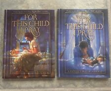 Set of 2 Books - For This Child I Pray: A Mother's & A Father's Prayer Journal