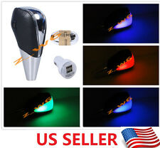 TOUCH MOTION ACTIVATED BLUE LED LIGHT CAR Universal shifter gear Shift knob