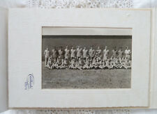 Vintage RCAF Photo WWII Royal Canadian Air Force Unit Group + 1940s Bride Groom