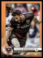 2020 MLS Base Orange #63 Steven Birnbaum /25 - D.C. United