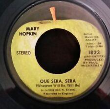 Mary Hopkin Apple 1823 QUE SERA SERA   45 SHIPS FREE