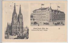 (112509) AK Colonia, Hotel svedese, Dom 1913