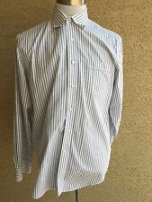 Awesome Tommy Bahama Gray-White  Dress Shirt Sz 16 1/2 - 34-35   D114