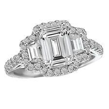 Platinum Emerald Cut 4.00 Carat Diamond Engagement Ring GIA Certified