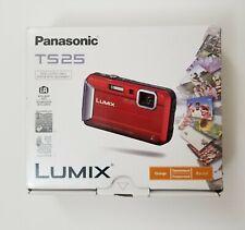 Panasonic DMC-TS25 Waterproof Digital Camera with 2.7-Inch LCD (Orange)