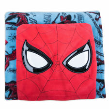 "Disney Store Fleece Throw / Pillow 2018 Spider-Man (50"" x 50"") Nwt"