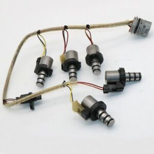 OEM Transmission Solenoids Valve W/ Harness F4A42 For Mitsubishi Hyundai Kia