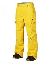 O'Neill Men's Escape Exalt Snow Trousers Pants Chrome Yellow Small BNWT