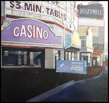 Maurice Tan Casino Poster Kunstdruck Bild im Alu Rahmen schwarz 70x70cm