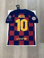 Leo Messi Nike Soccer Jersey Barcelona Home Medium
