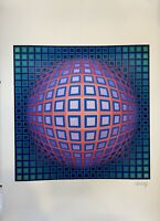 Victor Vasarely Print Signée et numérotée