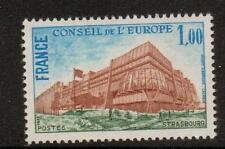 La Francia sgc21 1977 Consiglio d'Europa buliding 1f Gomma integra, non linguellato