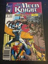 Marc Spector:Moon Knight#6 Awesome Condition 8.0(1989) Vs Brother Voodoo